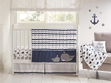 Wendy Bellisimo Bedding Crib Set 4-Pieces, Nantucket