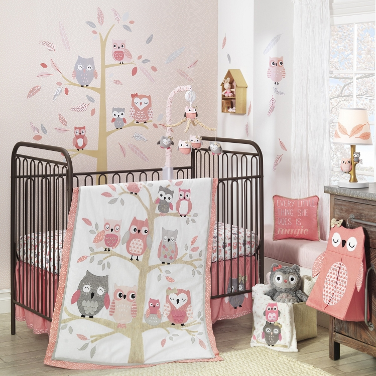 Lambs Amp Ivy Family Tree Bedding Crib Set 4 Pieces