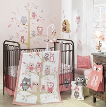 Lambs & Ivy Family Tree Bedding Crib Set 4-Pieces