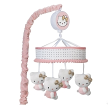 Lambs & Ivy Hello Kitty with Hearts Musical Mobile