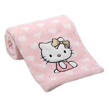 Lambs & Ivy Hello Kitty Blanket