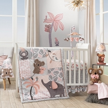 Lambs & Ivy Calypso Bedding Crib Set 4-Pieces