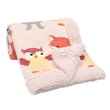 Lambs & Ivy Little Woodland Blanket