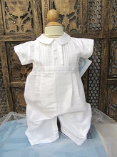 Willbeth Pintuck Romper White