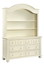 Munire Nantucket Hutch White