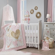 Lambs & Ivy Layla Bedding Crib Set 4-pieces
