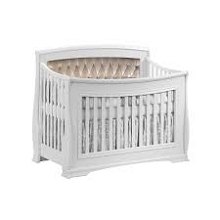 Natart Juvenile Bella 5 in 1 Crib  Pure White