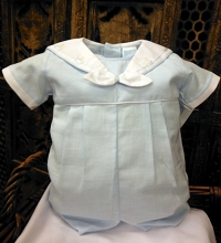Will'beth Sailor Romper Baby Blue****Discontinued****