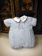 Will'beth  Romper with Embroidery Cycle