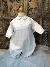 Willbeth Romper Boy White-Blue