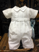 Will'beth Long Leg Boy Romper
