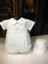 Will'beth Classic Romper with Hat