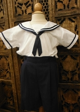 Will'beth Sailor Set 2-Pieces  Boy White-Navy
