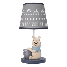 Lambs & Ivy Forever Pooh Lamp with Shade