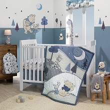Lambs & Ivy Forever Pooh Bedding Crib Set 3-Pieces
