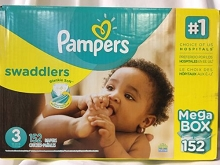Pampers Swaddles Diapers Size #3