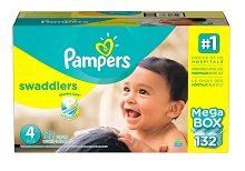 Pampers Swaddles Diapers Size #4