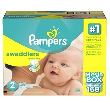 Pampers Swaddles Diapers Size #2