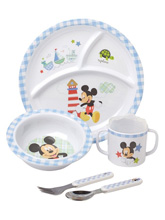 Kids Preferred Disney Mickey Plate Set