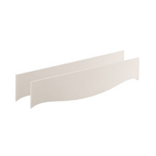 Natart Juvenile Allegra Conversion Rail White