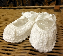 Will'beth Baby Knit Booties
