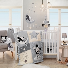 Lambs & Ivy Mickey Bedding Crib Set 4-Pieces