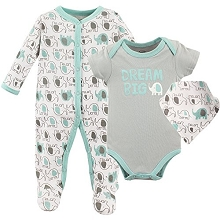 Luvable Friends 3-Pieces Layette Set
