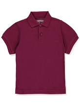 Universal School Uniform 50% Off Polo Short Sleeve Boy Burgundy