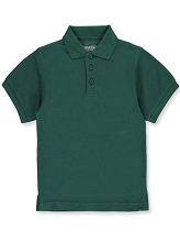 Universal School Uniform 50% Off  Polo Short Sleeve Boy, Hunter Green