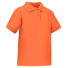 Universal School Uniform 50% Off Boy Short Sleeve Boy Polo Orange