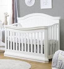 Sorelle Vista Elite 4-in-1 Convertible Crib White