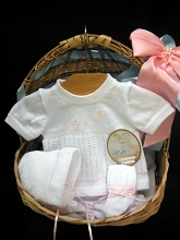 Will'beth Knit Set 4-Pieces White-Pink