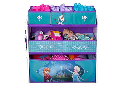 Delta Children Disney Frozen Multi Bin Toy Organizer