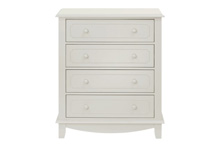 Million Dollar Baby Sullivan 4-Drawer Tall Dresser Dove