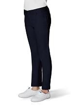 French Toast 50% School Uniform Skinny Stretch Twill Pant Girl, Navy