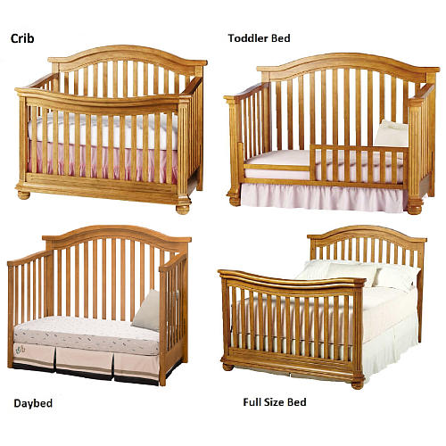 Sorelle Vista Elite Crib 4 In 1 Ideal Baby