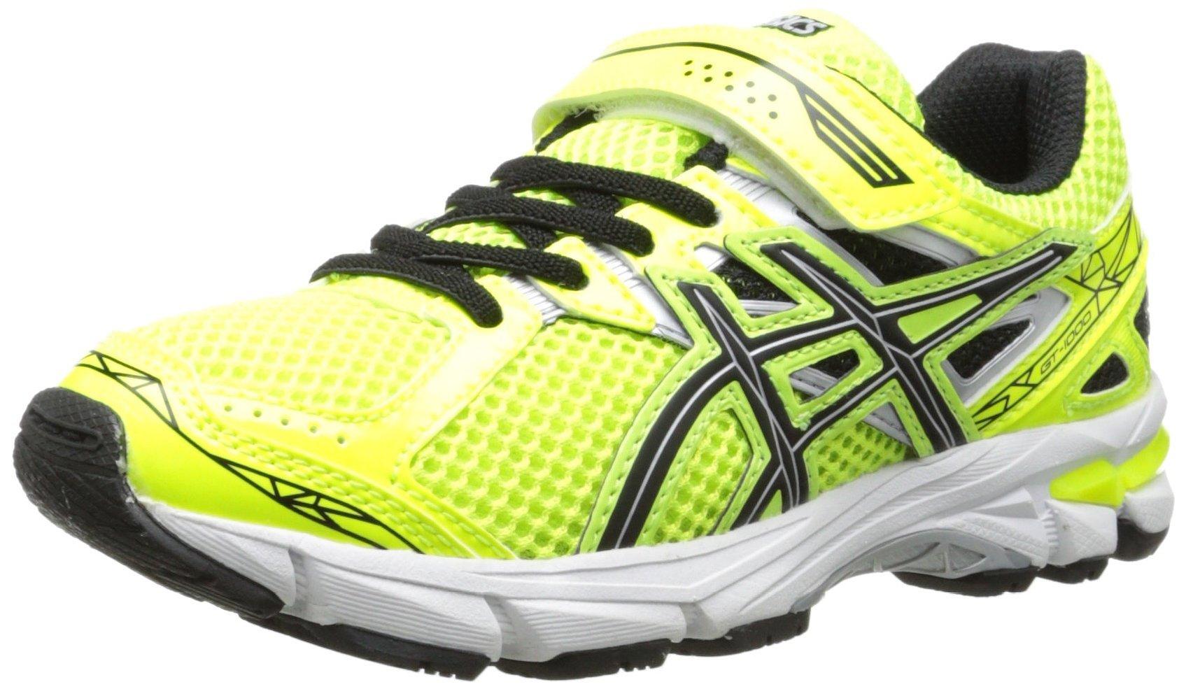 Asics 60% Off GT 1000 3 PS Running Shoe - Flash Yellow Black Lightning 8473e0e643
