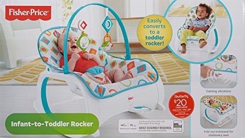 Fisher Price Infant To Toddler Rocker Geo Diamonds Ideal Baby