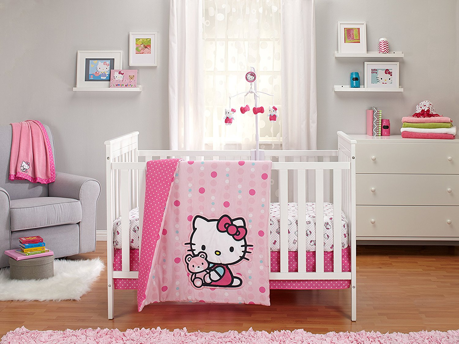 Hello Kitty For Baby Cribs