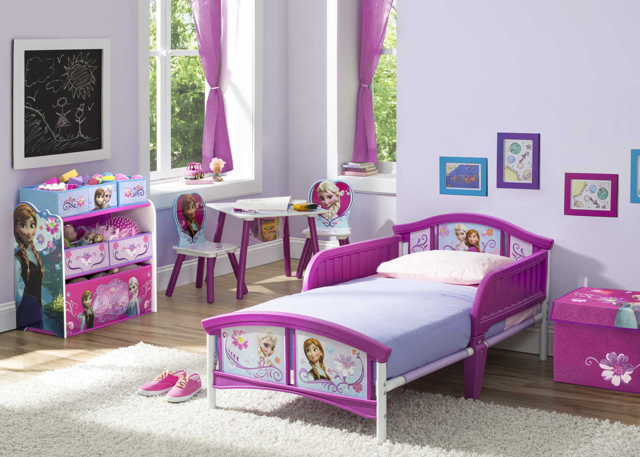 Disney Frozen Table u0026 Chair Set with Storage & Disney Frozen Table u0026 Chair Set with Storage - Ideal Baby