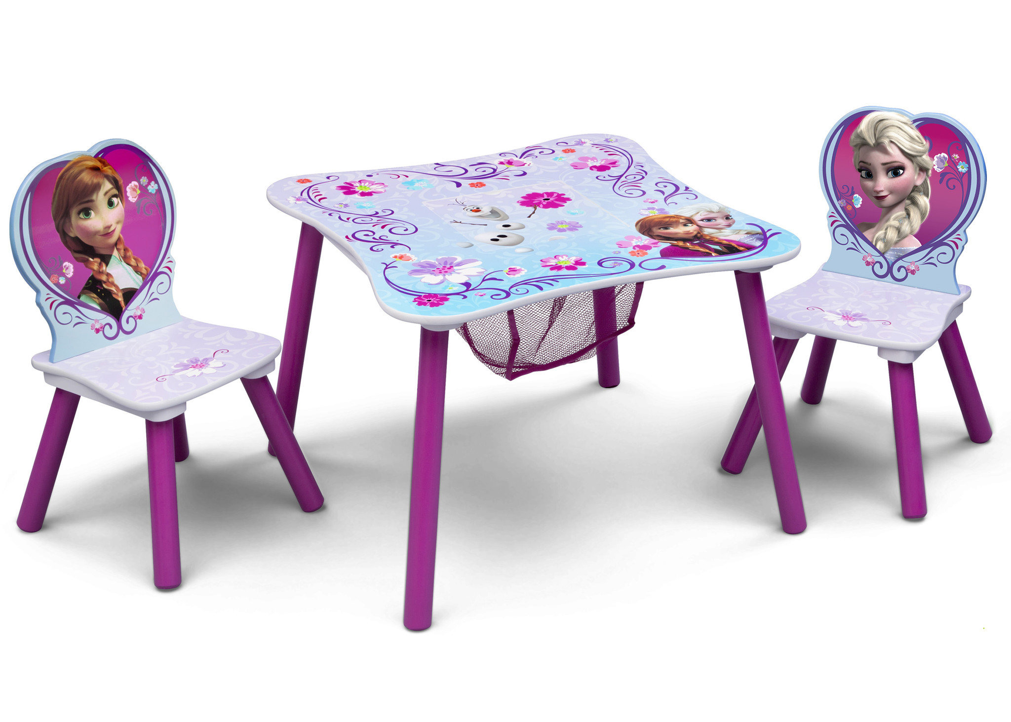 Disney Frozen Table Amp Chair Set With Storage