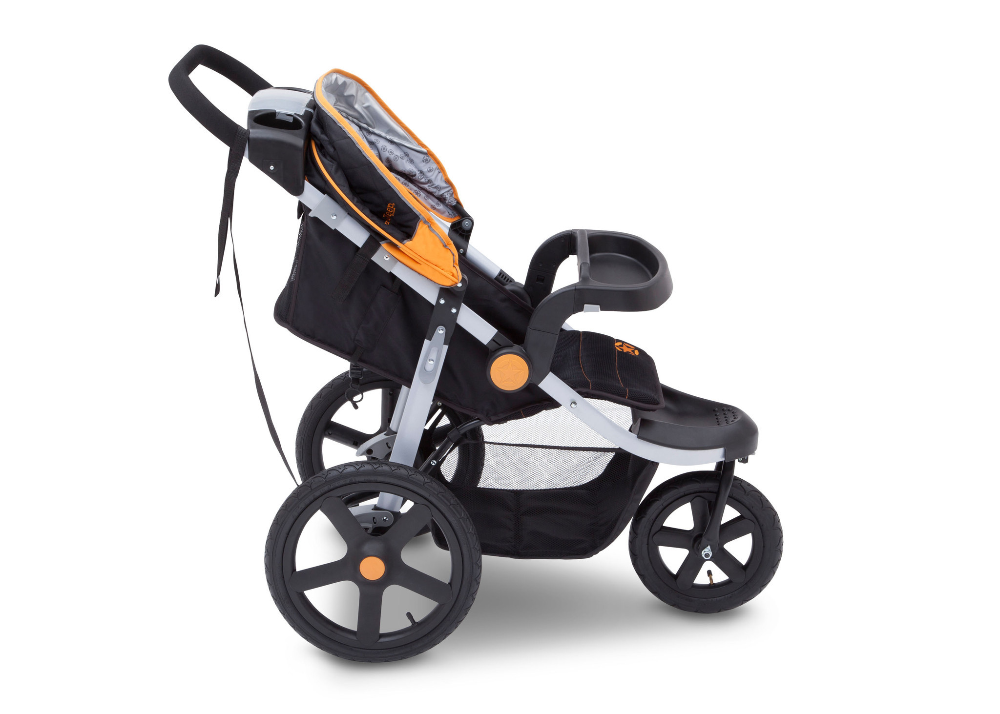 J is for Jeep Brand Adventure All Terrain Jogger Stroller Galaxy