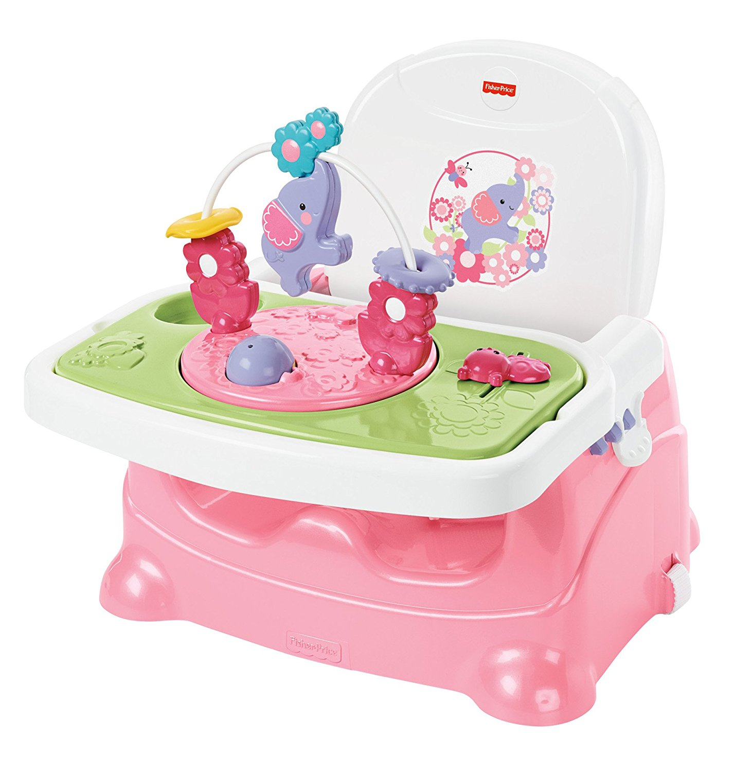 Fisher Price Pretty In Pink Elephant Booster Seat Ideal Baby