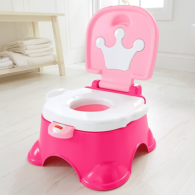 Fisher Price Royal Princess Stepstool Potty Ideal Baby