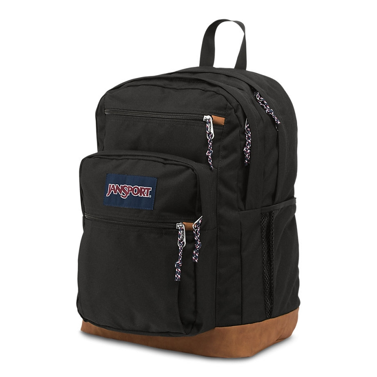 Jansport Cool Student Backpack, Black - Ideal Baby
