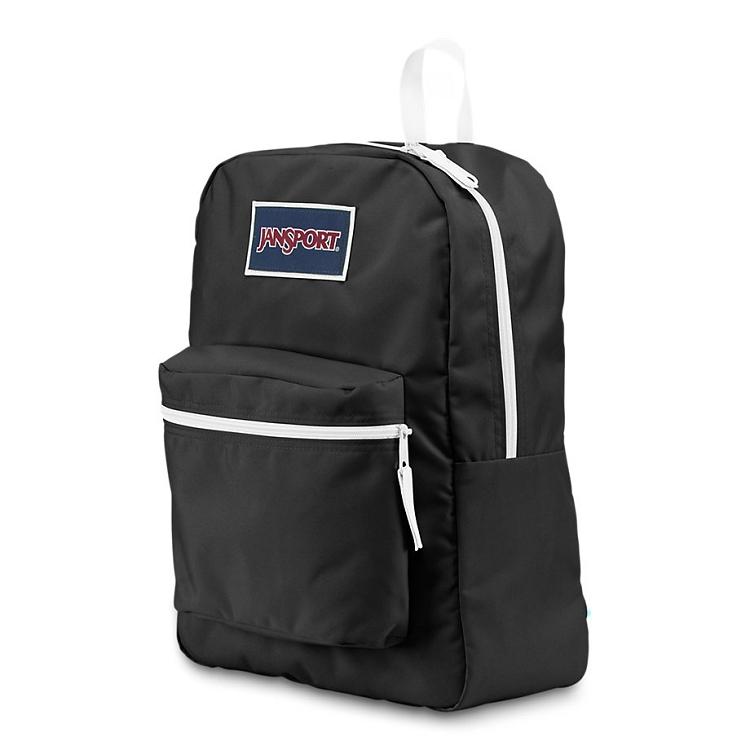 Jansport Overexposed Backpack, Black/White