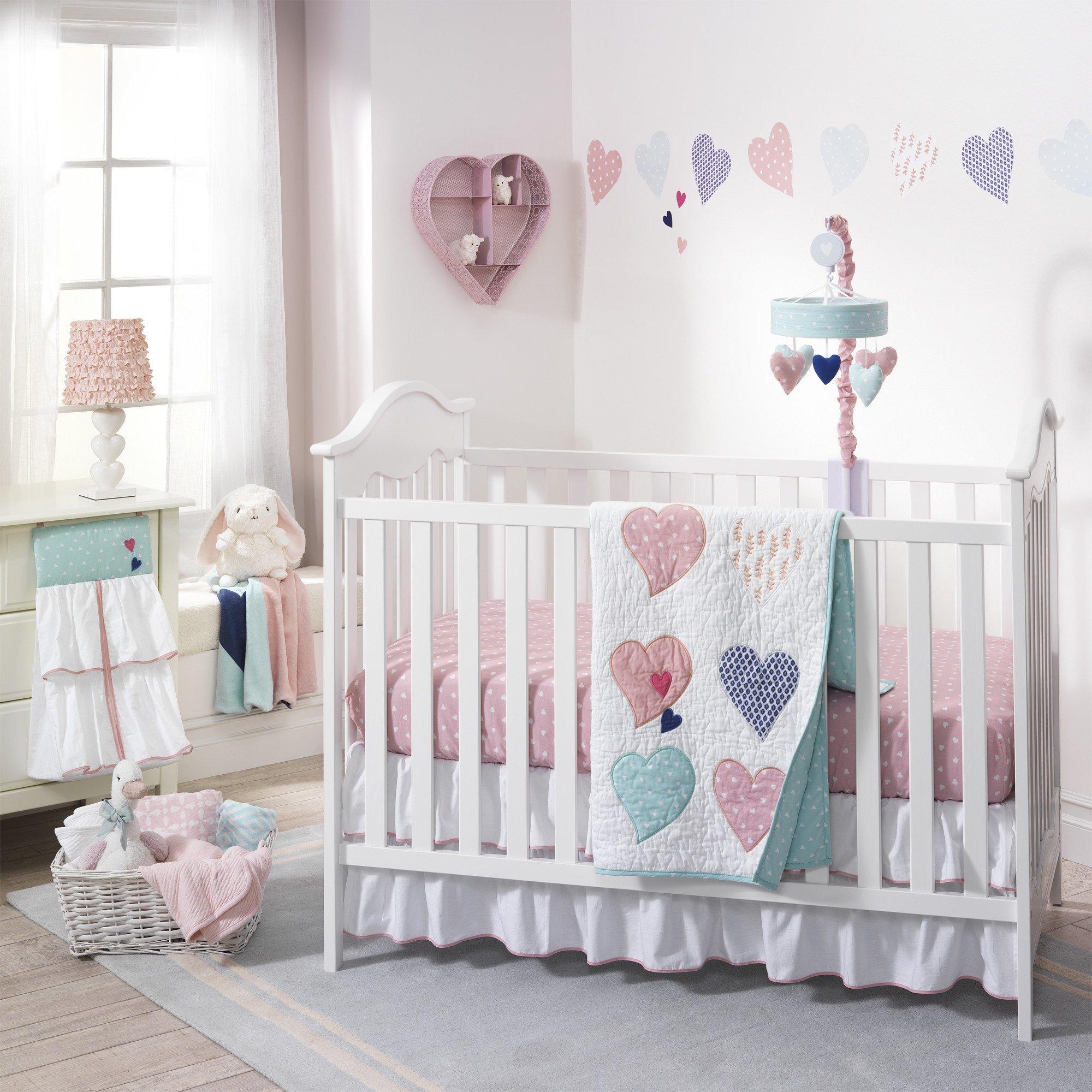 7e03e8ce17 Lambs & Ivy Felicity 5 Piece Crib Bedding Set.