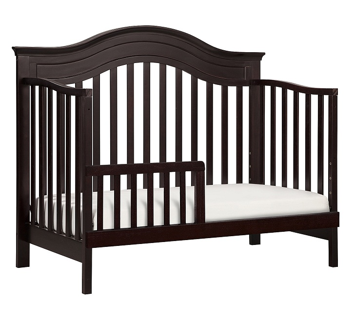 Davinci Brook 4 In 1 Convertible Crib With Toddler Bed Conversion