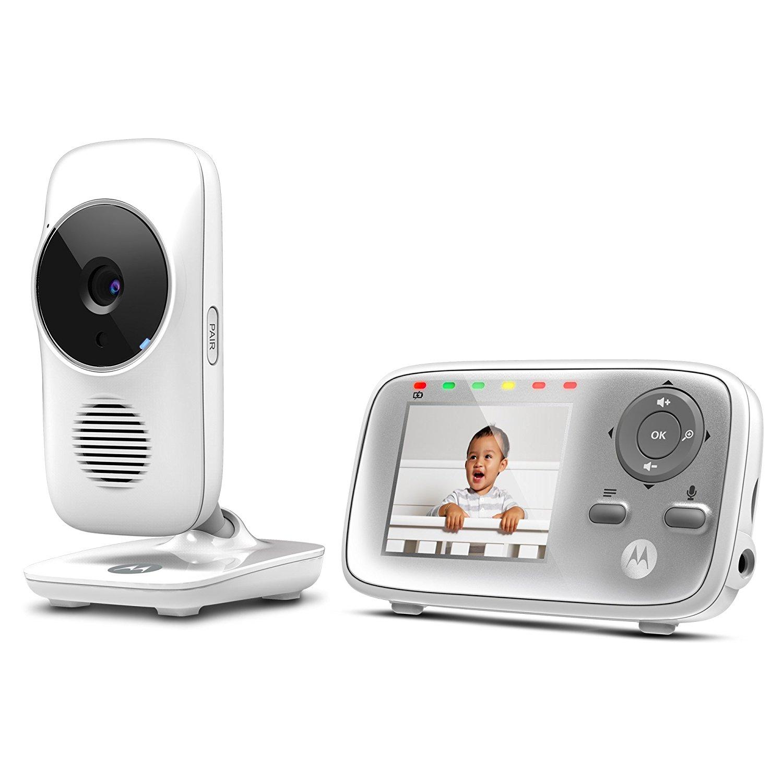 Binatone By Motorola Video Baby Monitor 2 8in White