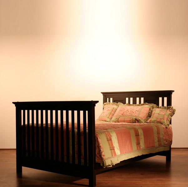 Romina Kids Furniture Karisma Convertible Crib In Espresso